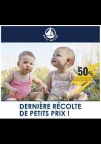 Prospectus Petit Bateau LILLE : Dernière Récolte de Petits Prix!!