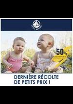 Prospectus Petit Bateau : Dernière Récolte de Petits Prix!!