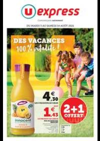 Prospectus U Express Neuilly-sur-Marne : LES VACANCES, ÇA A DU BON !