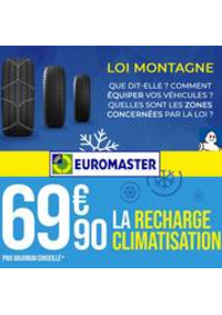 Prospectus Euromaster Pontault combault : Offre Spéciale