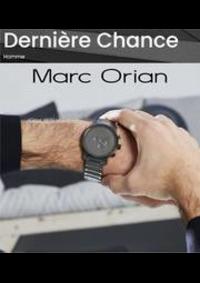 Prospectus Marc Orian Thiais - C.C. Belle Épine Bas : Dernière Chance Homme