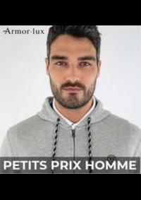 Prospectus Armor Lux PARIS 274 rue de Vaugirard : PETITS PRIX HOMME