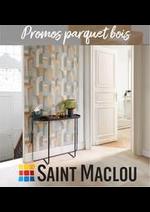 Prospectus Saint Maclou : Promos parquet bois