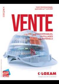 Prospectus Loxam PARIS : CATALOGUE DE VENTE