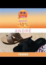 Prospectus André : Coup de soleil -50% FEMME