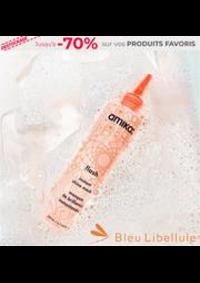 Prospectus Bleu Libellule GONFREVILLE L'ORCHER : -70% sur vos PRODUITS FAVORIS