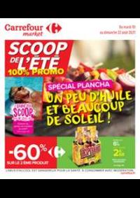 Prospectus Carrefour Market COLOMBES : Un peu d'huile et beaucoup de soleil !