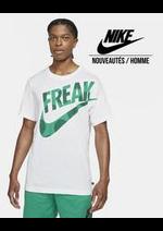 Prospectus Nike : Nouveautés / Homme