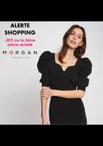 Prospectus morgan : ALERTE SHOPPING -30% sur le 2éme article acheté