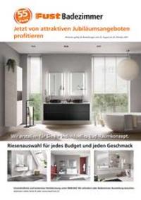 Prospectus Fust : Badezimmer Prospekt Herbst 2021