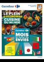 Prospectus Carrefour : Cuisine du monde