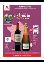 Prospectus Auchan Supermarché : Un grand choix de vins !