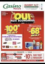 Promos et remises Géant Casino : Oui aux économies