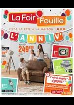 Promos et remises  : La Foir'Fouille L'anniversaire!