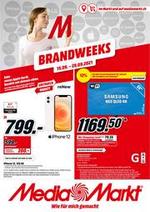 Prospectus Media Markt : Brandweeks