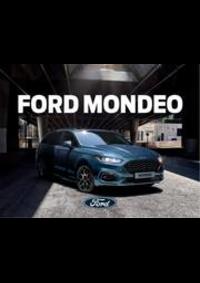 Prospectus Ford PARIS 210-212 Avenue du Maine : New Mondeo