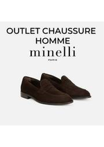 Prospectus Minelli : OUTLET CHAUSSURE HOMME