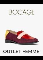 Prospectus Bocage : OUTLET FEMME