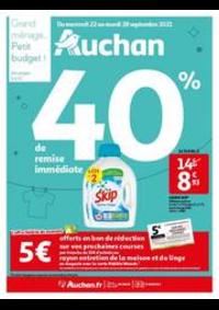 Prospectus Auchan BAGNOLET : Grand ménage...petit budget