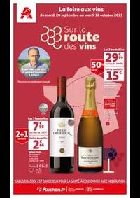 Prospectus Auchan MAUREPAS : Sur la route des vins