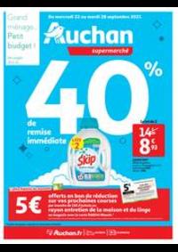 Prospectus Auchan Plaisir : Tout pour le grand ménage d'automne !
