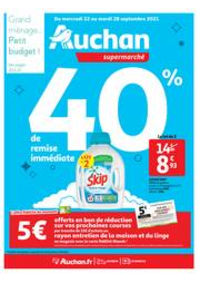 Prospectus Auchan TAVERNY : Tout pour le grand ménage d'automne !