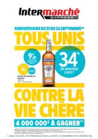 Prospectus Intermarché Express Paris 17 : TF ANNIVERSAIRE 1