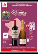 Prospectus Auchan : Un grand choix de vins en supermarché !