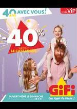Prospectus Gifi : -40% Sur Tout Le Catalogue