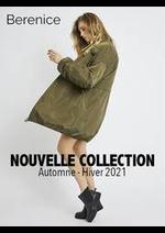 Prospectus Berenice : Nouveautés Femme