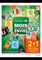 Promos et remises Carrefour Drive : LE MOIS DE TOUTES VOS ENVIES