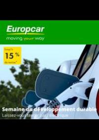 Prospectus Europcar PONTARLIER : Offres