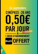 Prospectus Gaumont Pathé! : CinéPass