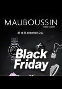 Prospectus MAUBOUSSIN EVIAN LES BAINS : Black Friday