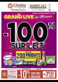 Prospectus Supermarchés Casino PARIS 28 - 34 rue de Ménilmontant : Le grand live des marques