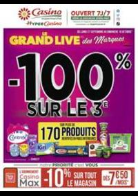 Prospectus Supermarchés Casino PARIS 26 bis et 28 Place de la Nation : Le grand live des marques
