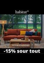 Prospectus Habitat : Habitat Salon jusqu'à -15%