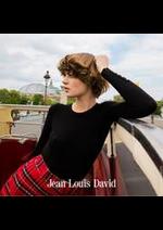 Catalogues et collections Jean Louis David : Nouveaux looks