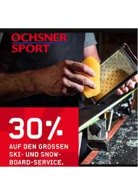 Prospectus Ochsner Sport Bern : 30% auf den Grossen Ski- und Snow-Board-Service