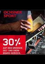 Prospectus Ochsner Sport : 30% auf den Grossen Ski- und Snow-Board-Service