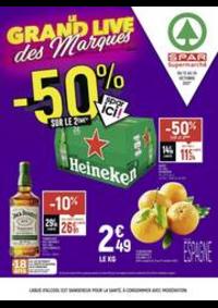 Prospectus Spar Herimoncourt : Le grand live des marques