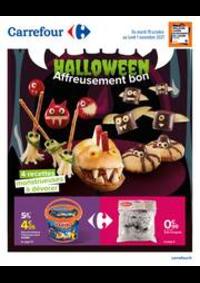 Prospectus Carrefour MARGENCEL : HALLOWEEN Affreusement bon