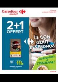 Promos et remises Carrefour Market DOUVAINE : La bon goût des promos !