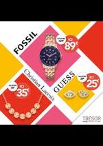Prospectus Trésor Bijoux : Promotion