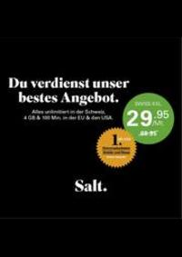 Prospectus Salt Basel - St. Jakobs-Strasse  : Aktuelle Aktionen