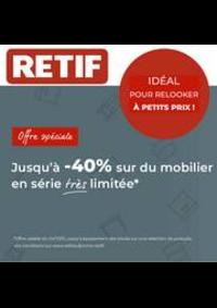 Prospectus Retif Aubervilliers : Promotion