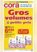 Gros volumes = petits prix ! - Cora