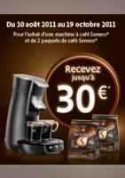 Senseo : recevez jusqu' à 30 € - Connexion